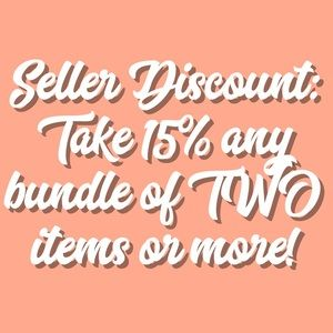 Other - Seller Discount!